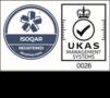 ISOQAR UKAS certifcate
