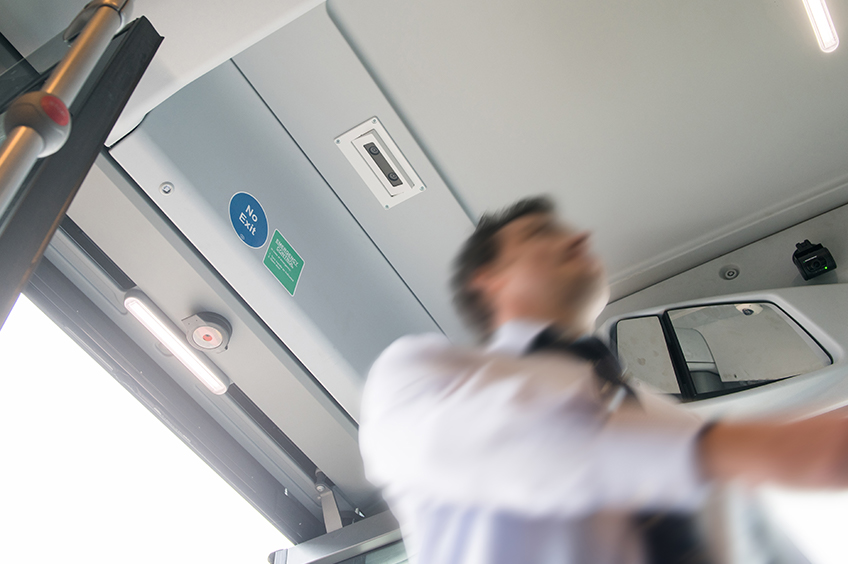 Bus automatic passenger counting